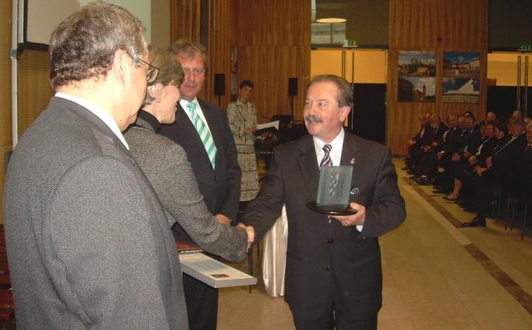 Vác átvette a Kultúra Magyar Városa 2010 díjat