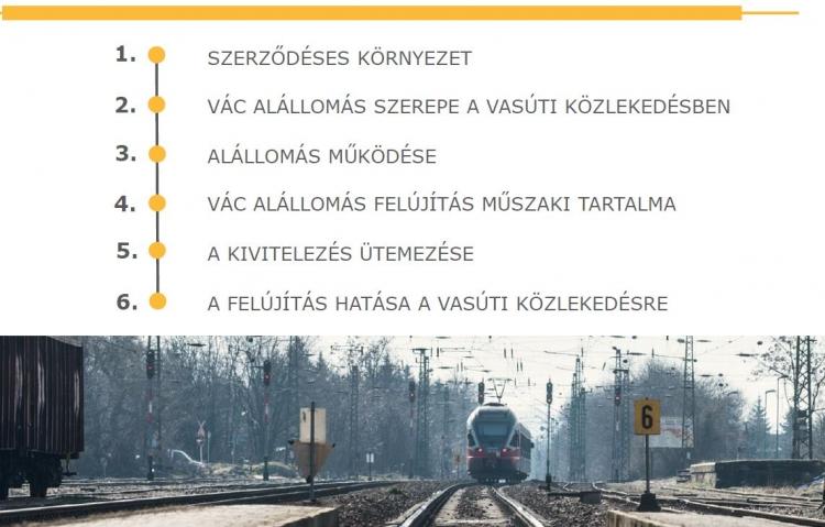 Véleményeket várnak a vasúti transzformátor alállomás felújítási tervérõl